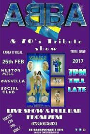 ABBA TRIBUTE EVENNG