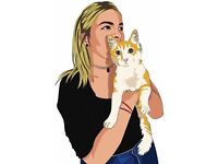 Cartoon Digital portraits