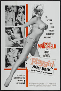 Too hot to handle Jayne Mansfield movie poster print