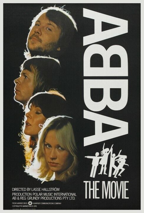 ABBA POSTER Amazing Image *VERY LARGE* the MOVIE Promo Swedish Music