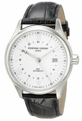 Frederique Constant GMT Men's Automatic Caliber Exhibition 42mm Watch FC-350S5B6