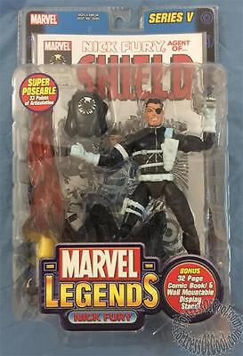 Marvel Legends Series V (5): Nick Fury Figure