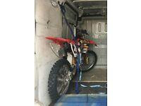 Crf 250 2007 fresh rebuild sale or swap