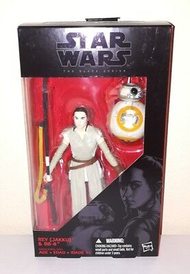 Star Wars The Black Series 6 Inch  2 Rey With Bb8 Original Version