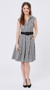 Review Brittany Checked Shirt-dress (L) Tewantin Noosa Area Preview