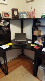 Ikea Micke corner desk x 1 and Smaller Micke Desk x 2