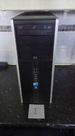 HP Compaq 8100 Elite i5 - 660 @3.33GHz , 4 GB Ram, 40 GB HDD