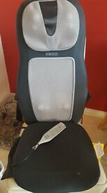Bargain at £60 ono - HoMedics Shiatsu Massaging Chair. Excellent condition full working order