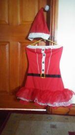 Festive Santa dress