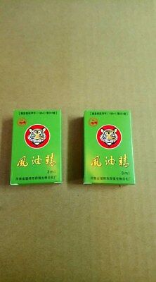 2 x TIGER Balm Brand Medicated Oil Pain Relief Refresh 3ML Massage