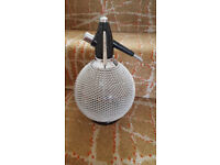 Retro Soda Syphon with metal mesh