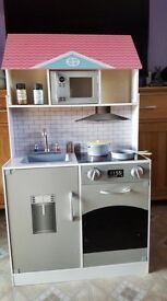 large posh kitchen/dolls house brand new and ready built