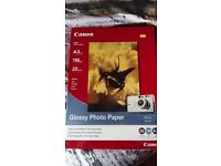 Brand New pack of Canon A3 ink jet photo paper