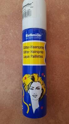 Glitter - Haarspray   Farbe silber  - Silber Haar Spray