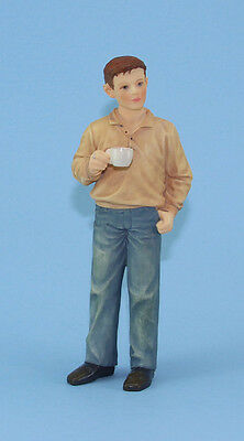 1:12 Scale Dollhouse Miniature Modern Male Doll by Houseworks #HW3072
