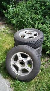 245/65/R17 Tires and rims for sale