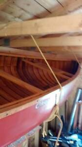 original Chestnut canoe from the 1970s - excellent shape