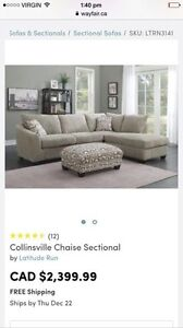 Chaise Sectional Couch