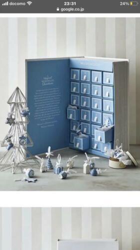 Wedgwood Holiday Advent Calendar 2020  Miniature