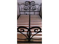 Next Double bed frame without mattress
