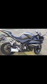 Yamaha yzf-r125 65 plate 611 geniune miles + warranty