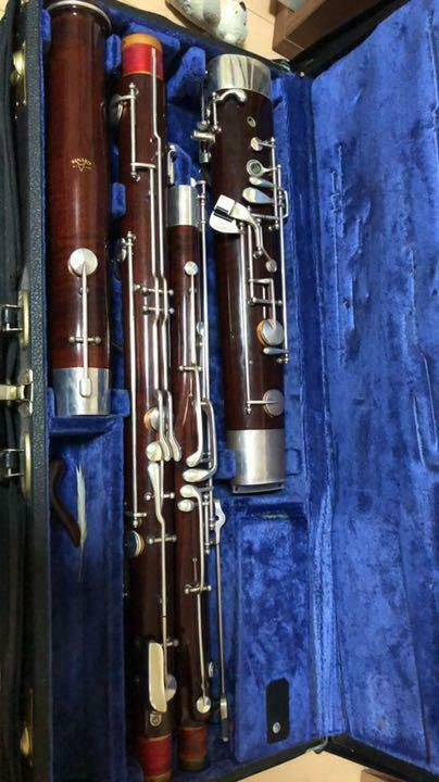Fox bassoon used in Japan
