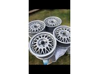 "14"" VW BBS Alloy wheels. 4x100"