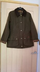 ladies size 12 Barbour wax liberty jacket
