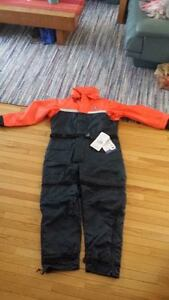BRAND NEW Mustang MS-195 atlantic class floatation suit