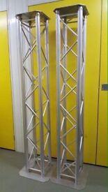 2 x 2 metre DJ Truss Columns Mobile Disco