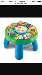 Leapfrog learning table/pull toy