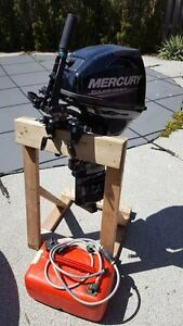 2013 15HP Mercury Four Stroke Outboard For Sale