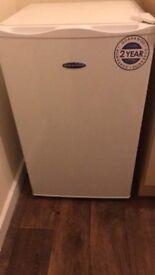 Fridge with a small freezer inside