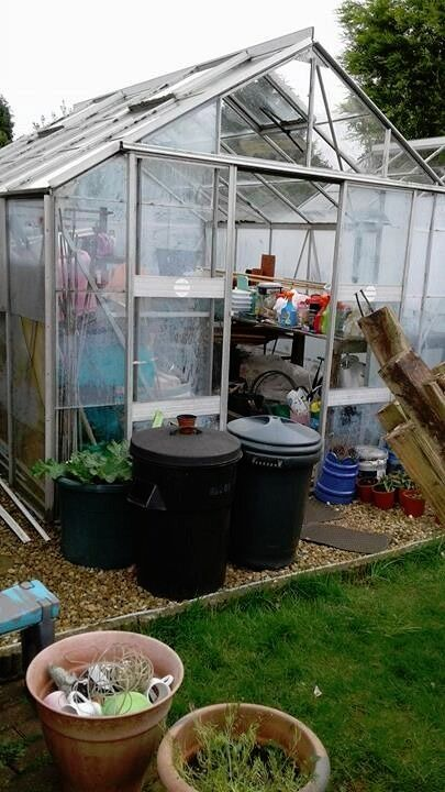 Eden ~ Market Garden Size 12ft x 10ft Greenhouse with Many, Many Extras..