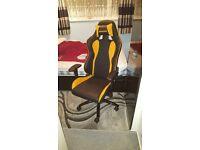 Computer Gaming Chair - AKRacing Nitro Black & Orange