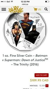 Superman coin and statue St. John's Newfoundland image 2