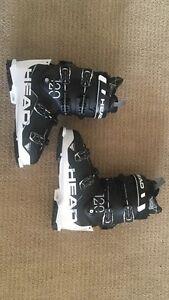 Head Challenger 120 Black/White Ski Boots