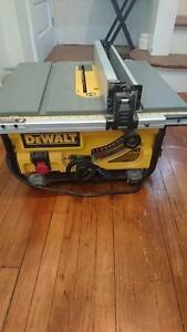 """10"""" Compact Job Site Table Saw with Site-Pro Modular Guarding"""