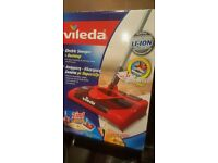 New In Box Vileda Electric Rechargeable Cordless Sweeper Hoover Duster Vacuum Cleaner