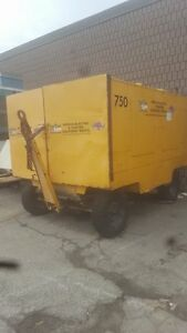 750 CFM SullAir Diesel Portable Air Compressor Rental