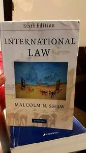 Selling International Law Textbook