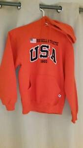 RUSSELL Athletic USA Unisex Pullover Hoodie Size M Angle Park Port Adelaide Area Preview