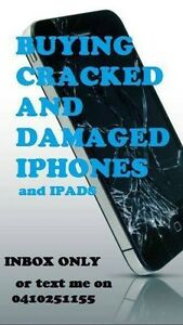 Buying smashed cracked 6s 6 Samsungs and ipad Melbourne CBD Melbourne City Preview