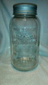 Crown Half Gallon Canning Jars (w/rings and lids)