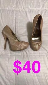 Beautiful Rose Gold Event/Prom Heels