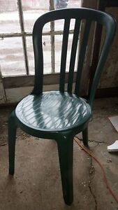 23 Stacking Resin Plastic Chairs