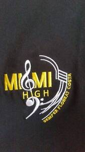 SCHOOL UNIFORM - UNISEX BAND SHIRT - MIAMI STATE HIGH SCHOOL Mermaid Waters Gold Coast City Preview