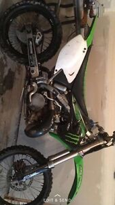 05 kx 250 2 stroke dirtbike