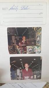 Smiley Bates Autograph and Pictures..