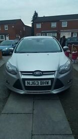 Silver ford focus low mileage